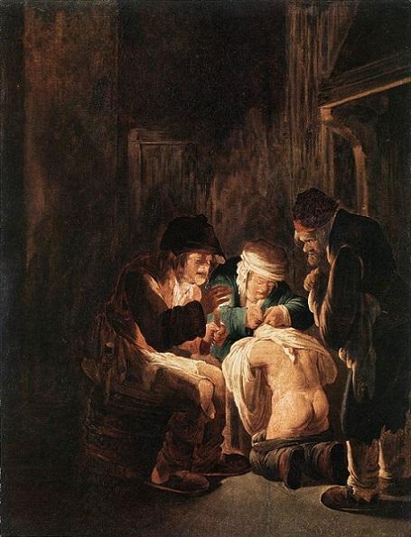 Avdries Both - De wandluizenjacht, ca. 1620.